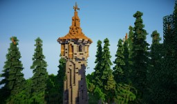 Thuringer Queen Tower | Replica from movie The Brothers Grimm Minecraft