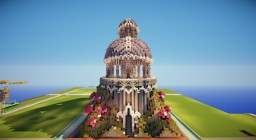 Plot World Temple Minecraft Map & Project
