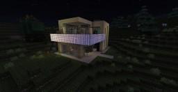 Modern House By Berk Minecraft Map & Project
