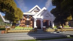 Craftsman Bungalow ~ Hoop Minecraft Map & Project