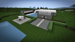 Modern House 8 - Subterranean Modern House Minecraft