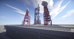 """Baikonur"" - Kosmodrom Minecraft Map & Project"
