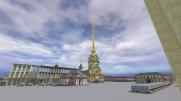 Petropavlovsk's Fortress - St.Petersburg Minecraft Map & Project