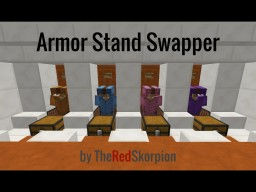 Armor Stand Swapper Minecraft Map & Project