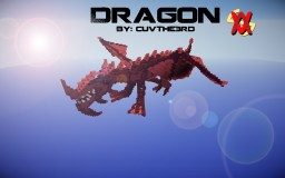 Dragon (2nd ever!) Minecraft Map & Project