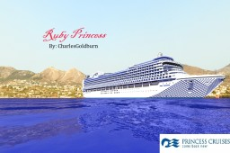Ruby Princess 1:1 Scale Cruise Ship [+Download] [Real-Ship] Minecraft