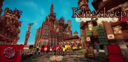 Kingskeep - The Impregnable Crimson Fortress - The Tales of Runebrire Official Project Minecraft