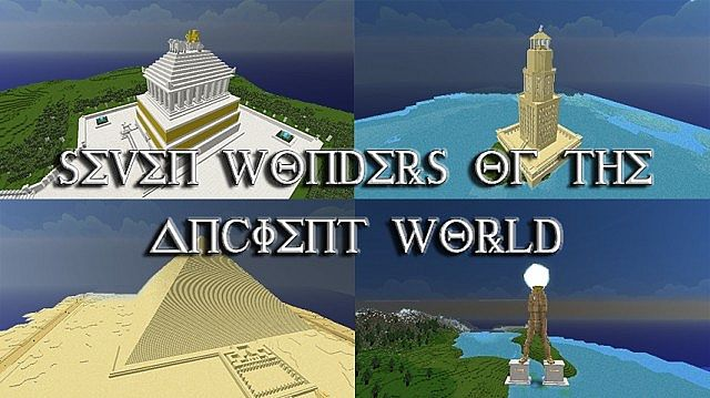 an overview of the seven wonders of the ancient world To navigate the timeline, click and drag it with your mouse, or click on the timeline overview on the bottom one of the seven wonders of the ancient world.