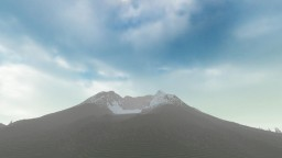 Replica of Mount Saint Helens - Ultra Realistic Minecraft Map & Project