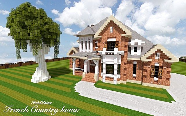 French country home world of keralis minecraft project french country home world of keralis gumiabroncs Gallery