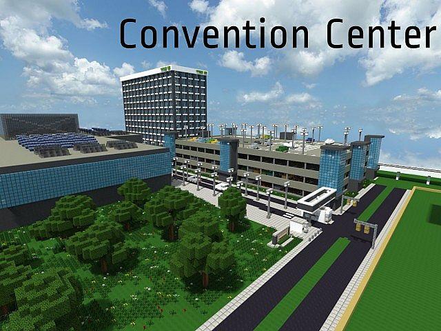 Convention Center Gbc Pop Reel Minecraft Project