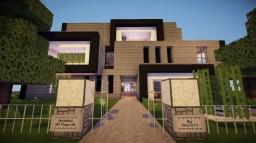BAUHAUS - Modern Mansion Minecraft Map & Project