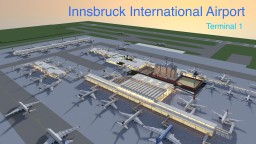 Minecraft Innsbruck International Airport Terminal 1 Minecraft Map & Project