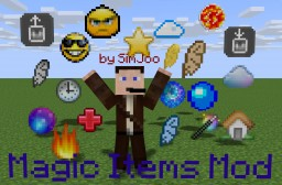 [1.7.10/1.7.2] Magic Items Mod by SimJoo - 113 new amazing items! Minecraft Mod