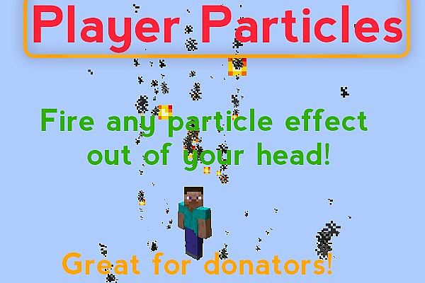 Plugin PlayerParticles Minecraft Mod