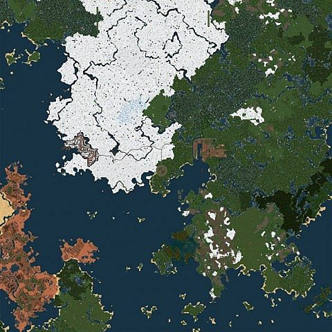 The complete in-game map
