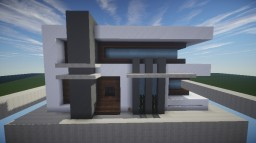 First Modern House [Birthday Build] [Pop Reel] Minecraft