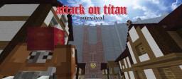 Attack On Titan Survival Minecraft Blog