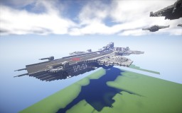 captain america 2  SHIELD  3Helicarrier Minecraft