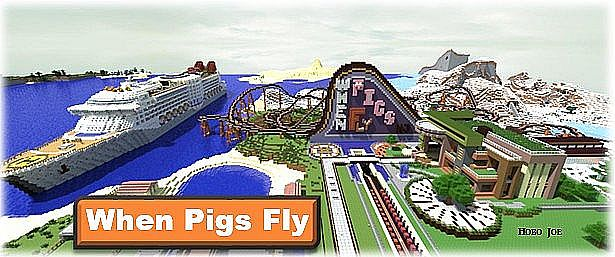 When Pigs Fly A HUGE Realistic MEGA COASTER Sub Special - Roller coaster on a cruise ship