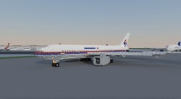 Boeing 777-200ER (Malaysian Airlines) [MH370, MH17 Memorial Plane] Minecraft Map & Project
