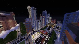 HUGE UPDATE!!!! Huge detailed city!! Tons to see! Times Square, Stadiums, Legoland, Statue of Liberty and more! Minecraft Map & Project