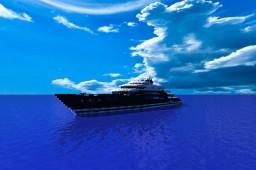 Serene - Megayacht [1:1 Exterior] Minecraft