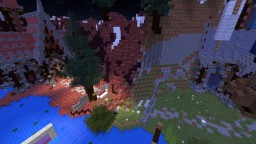 Strife of Dimensions - Capture The Flag with Banners Minecraft Map & Project