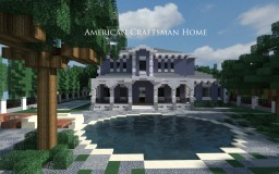 American Craftsman Home Minecraft Project
