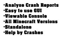 Minecraft Crash Report Analyzer Minecraft Mod