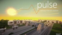 Pulse  TCS  a modern transit station Minecraft Map & Project