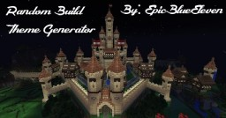 Random Build Theme Generator (2 Years Old!) Minecraft Map & Project