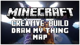 """~Draw My Thing~ Map: """"Crafty Caverns Minecraft Map & Project"""
