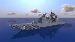 USS Princeton CG-59 || 1:1 Scale Minecraft Map & Project