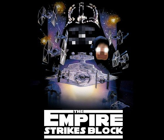 The Empire Strikes Block.