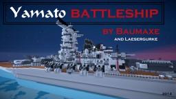 Yamato battleship Minecraft Map & Project