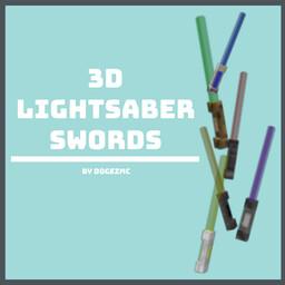 [1.16.5+] 3D Lightsaber Swords - No Optifine Required Minecraft Texture Pack
