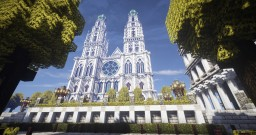 Ferrodwynn - Cathedral Square Minecraft Project