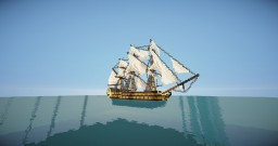 HMS Agamemnon | British third rate ship Minecraft Project