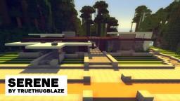 Serene: modern house Minecraft Map & Project