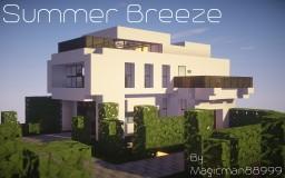 Summer Breeze: A Modern Home Minecraft Map & Project