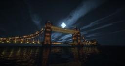 Tower Bridge in London Minecraft Project