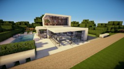 Modern house 01 Minecraft Map & Project