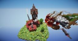 Floating Lobby - By SilverGateBuilds Minecraft