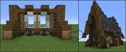 How to become a better builder: House Minecraft Blog