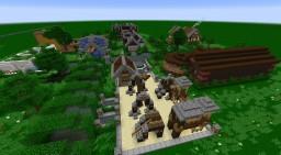 Medieval style playground Minecraft