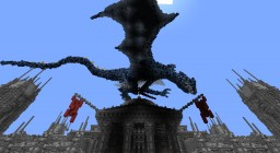Frost dragon Retextured Minecraft Map & Project