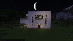 The Modern House XL Minecraft Map & Project