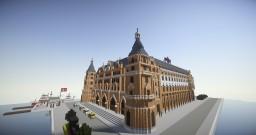 İstanbul Haydarpaşa Train Station - İstanbul Haydarpaşa Gari Minecraft Map & Project