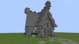 Medieval Cobblestone House Minecraft Map & Project